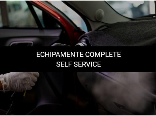 Echipamente spalatorie Self Service