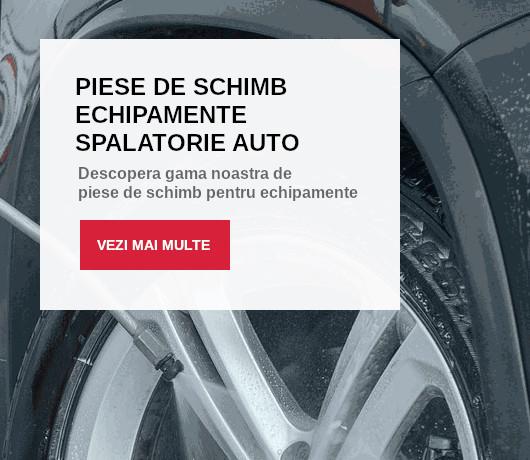 Piese de schimb pentru echipamente spalatorie auto