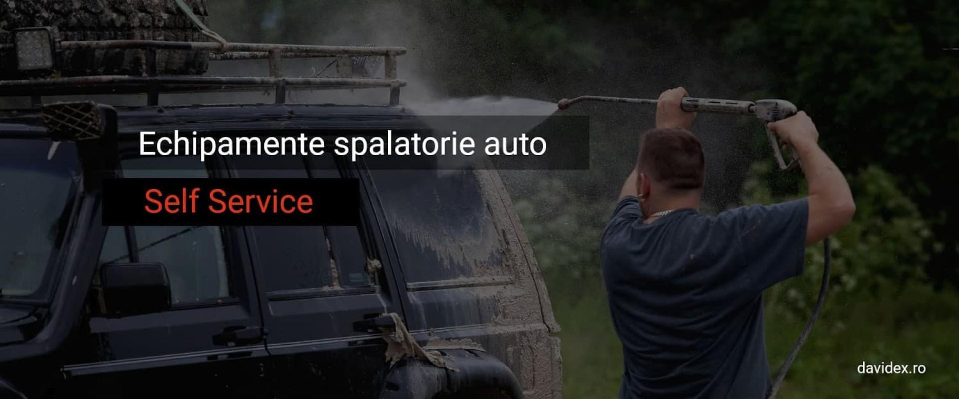 Echipamente spalatorie auto Self Service